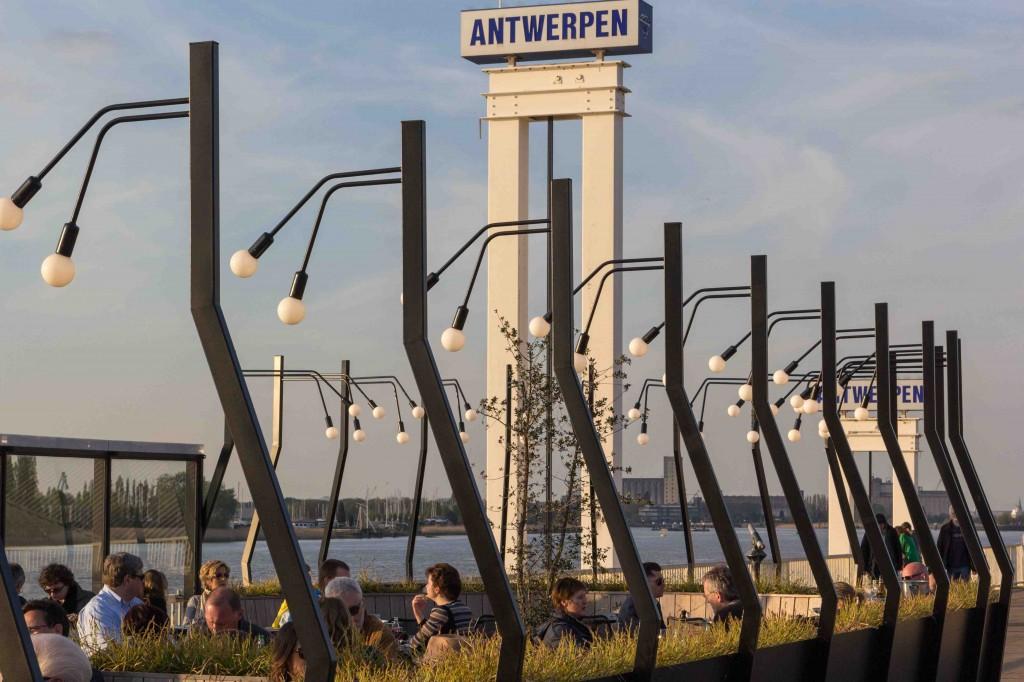 terras aan de Schelde, Antwerpen