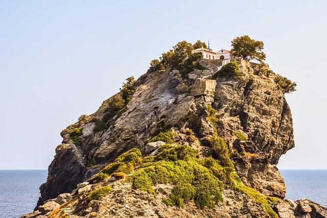 Skopelos, Agios Ionnis Kastri, Mamma Mia