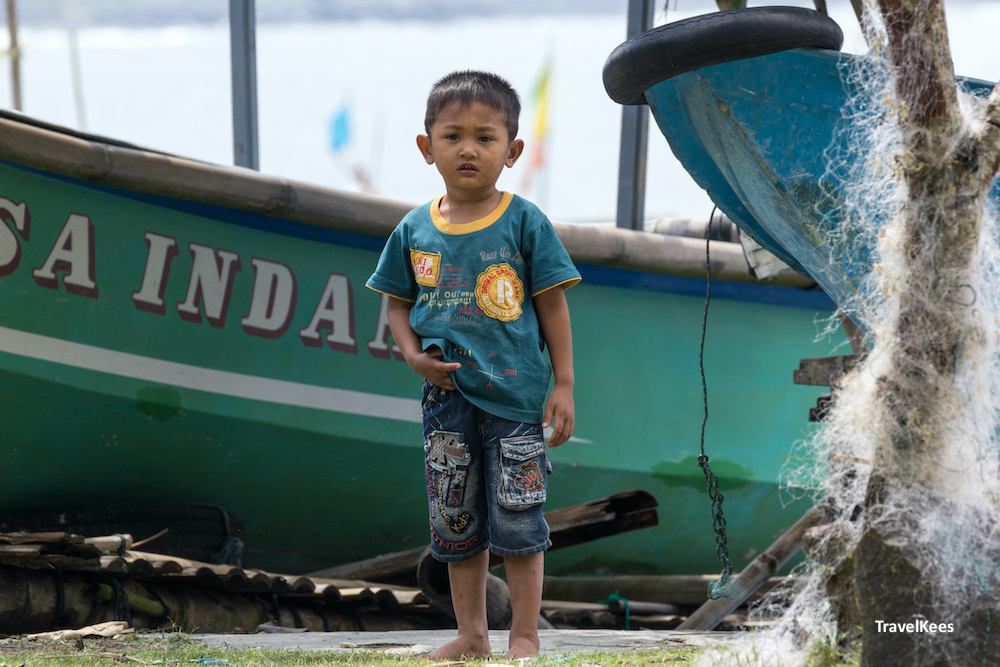 fishing boats, pangandaran