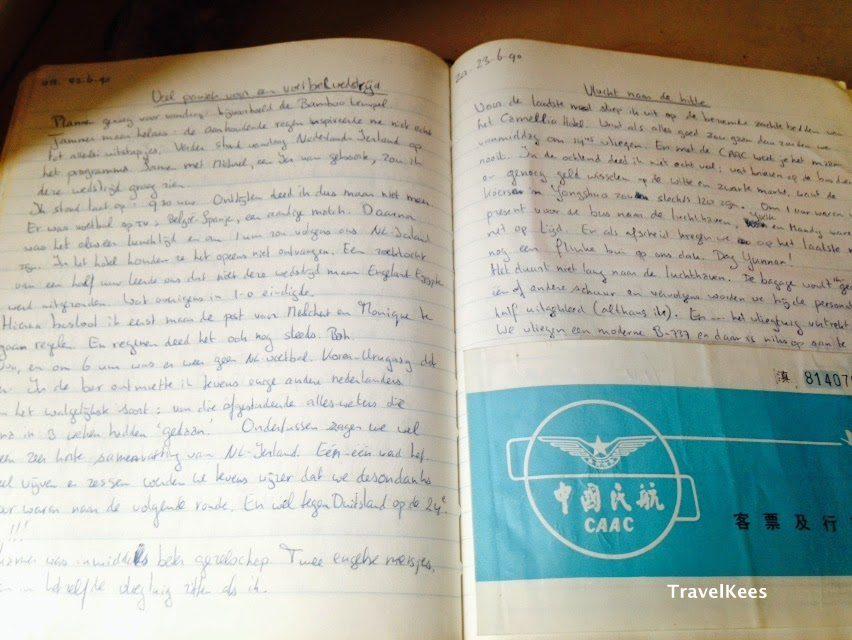 wereldreis, dagboek, kees on tour, verhaal van een wereldreis