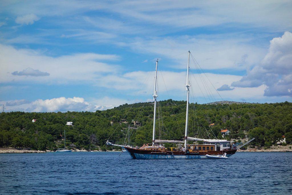 gulet kroatië
