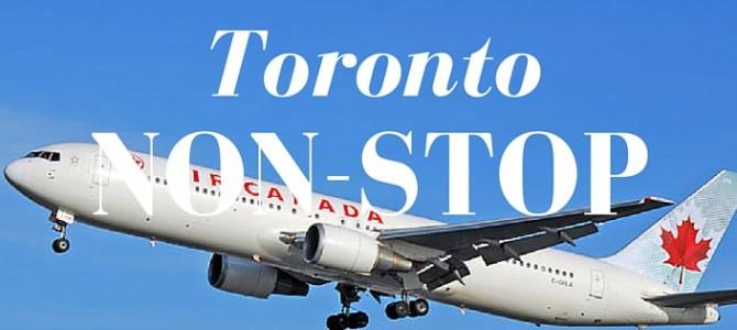Air Canada nonstop naar Toronto