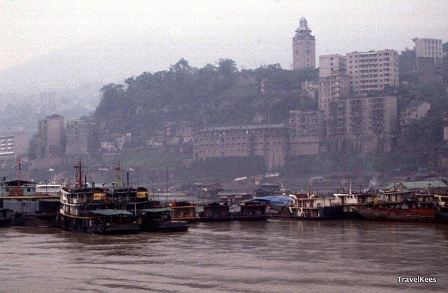 wanxian, riviercruise over de yangtze