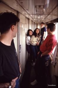 gangpad van de trein