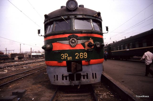 transsiberië express tussen jekaterinenburg en novosibirsk, cccp