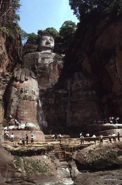 Grote boeddha van Leshan