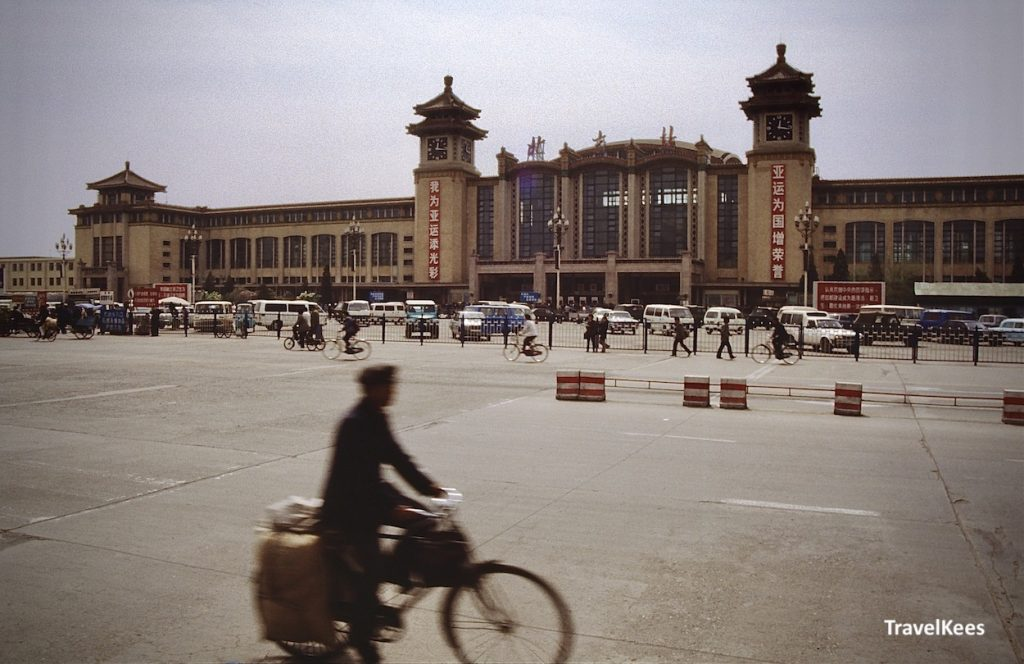 station Beijing, aankomst in China