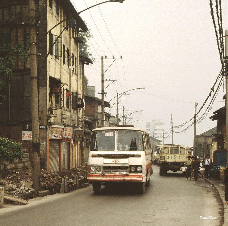 city bus in chongqing
