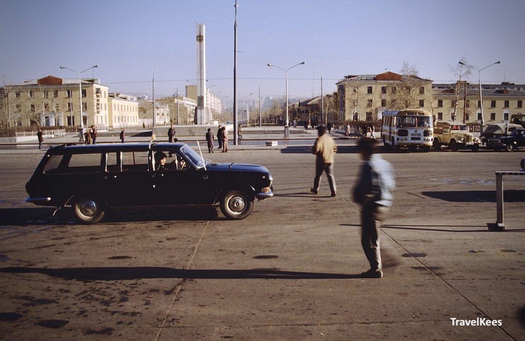 stationsplein van ulaanbaatar