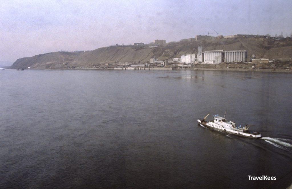 jenisej, krasnojarsk, Transsiberië Express tussen Krasnojarsk en Irkoetsk