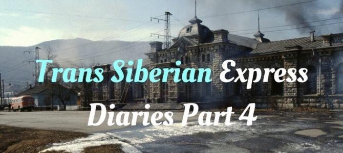 Transsiberië dag 4: langs het Baikalmeer