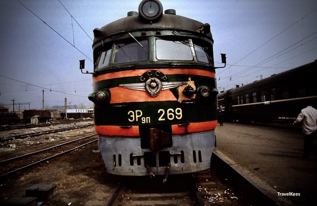 transsiberië express tussen yekaterinburg en novosibirsk, cccp