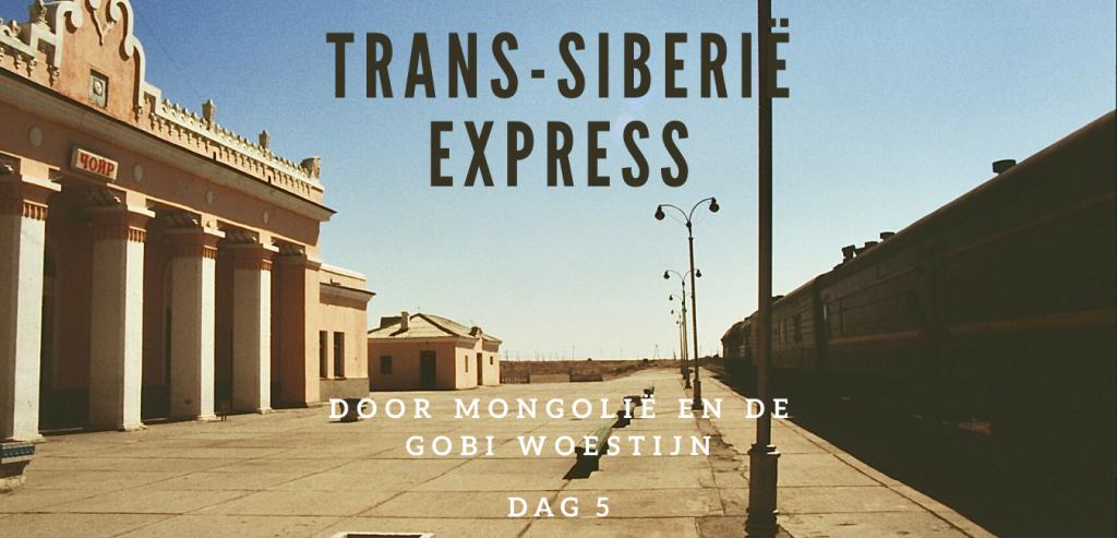 transsiberië express door mongolië