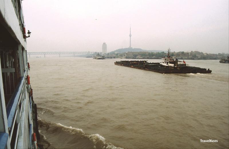 Yangtze rivier bij Wuhan