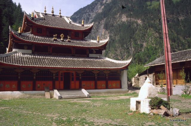 jiuzhaigou tibetaans klooster
