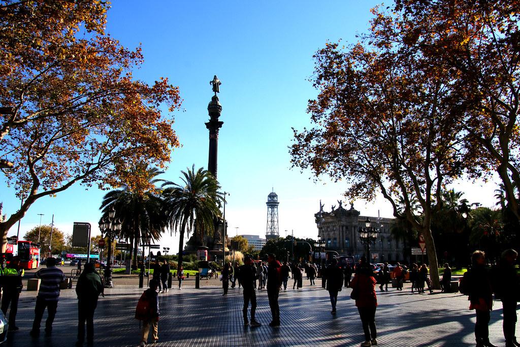 cristoforo colon, barcelona