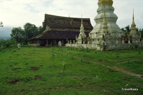 Xishuangbanna, klooster bij Menghan