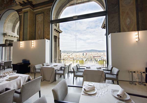 restaurant in palau nacional, barcelona