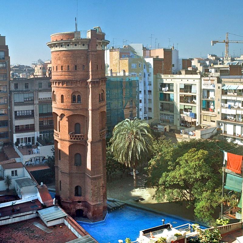 torre de les aigües, barcelona