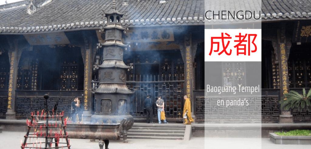 chengdu baoguang tempel