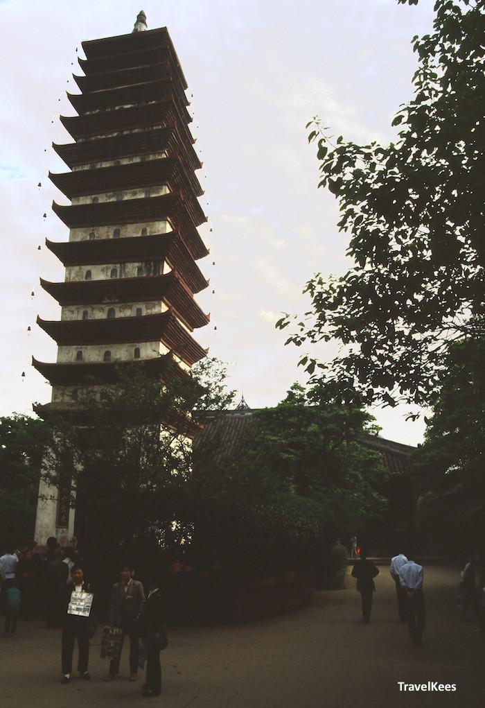 pagode van Baoguang tempel
