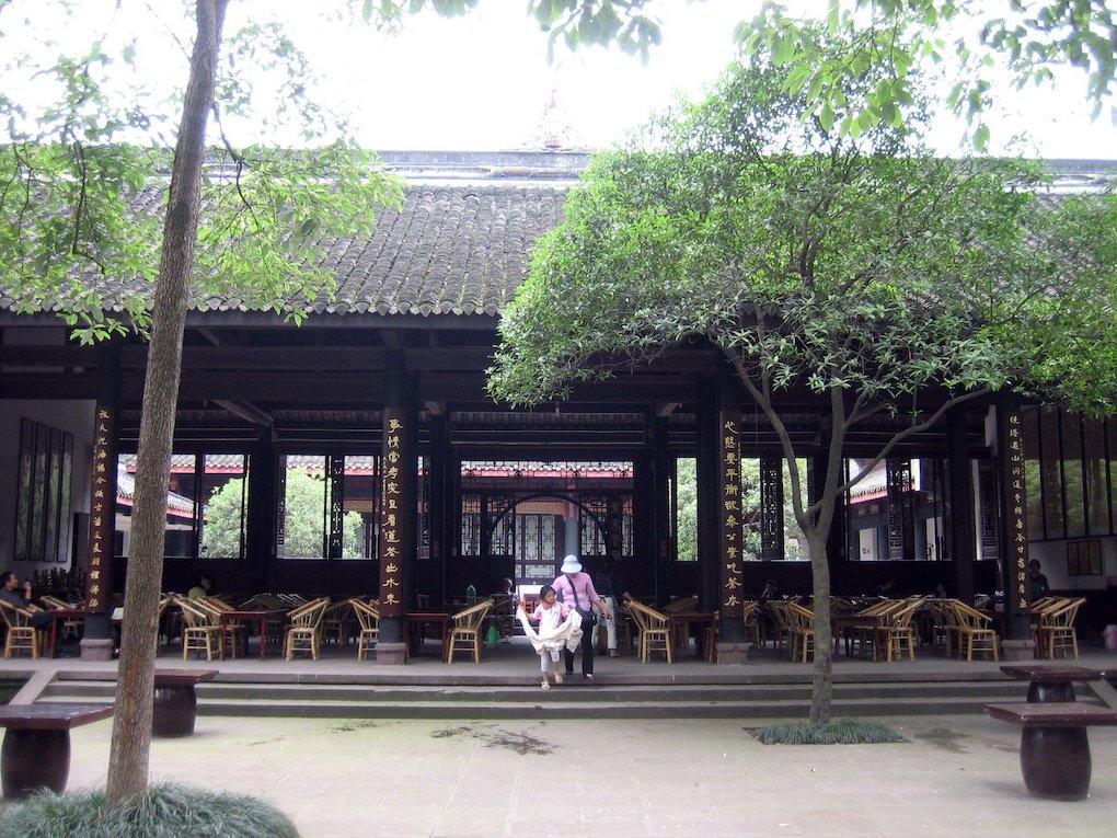 baoguang tempel, chengdu