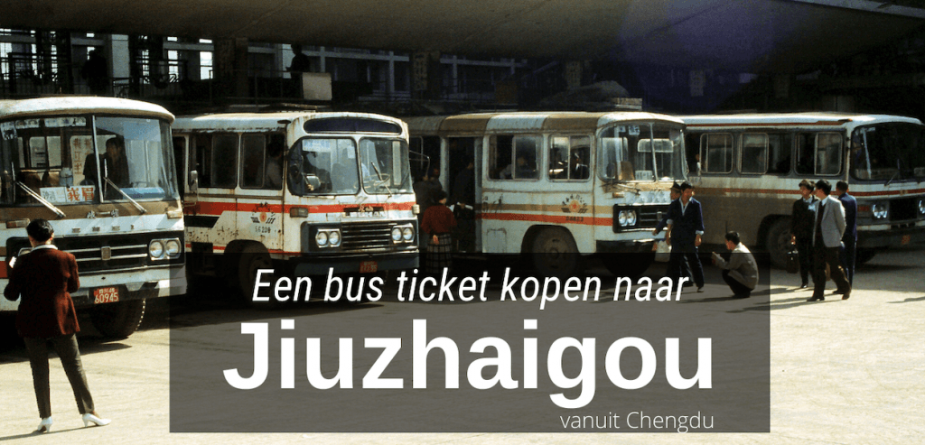 bus ticket Jiuzhaigou