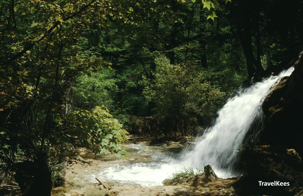 waterval in jiuzhaigou national park