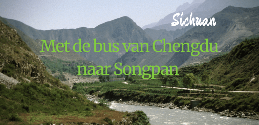 bus van chengdu naar songpan