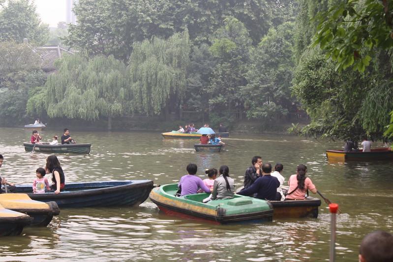 renmin park in chengdu