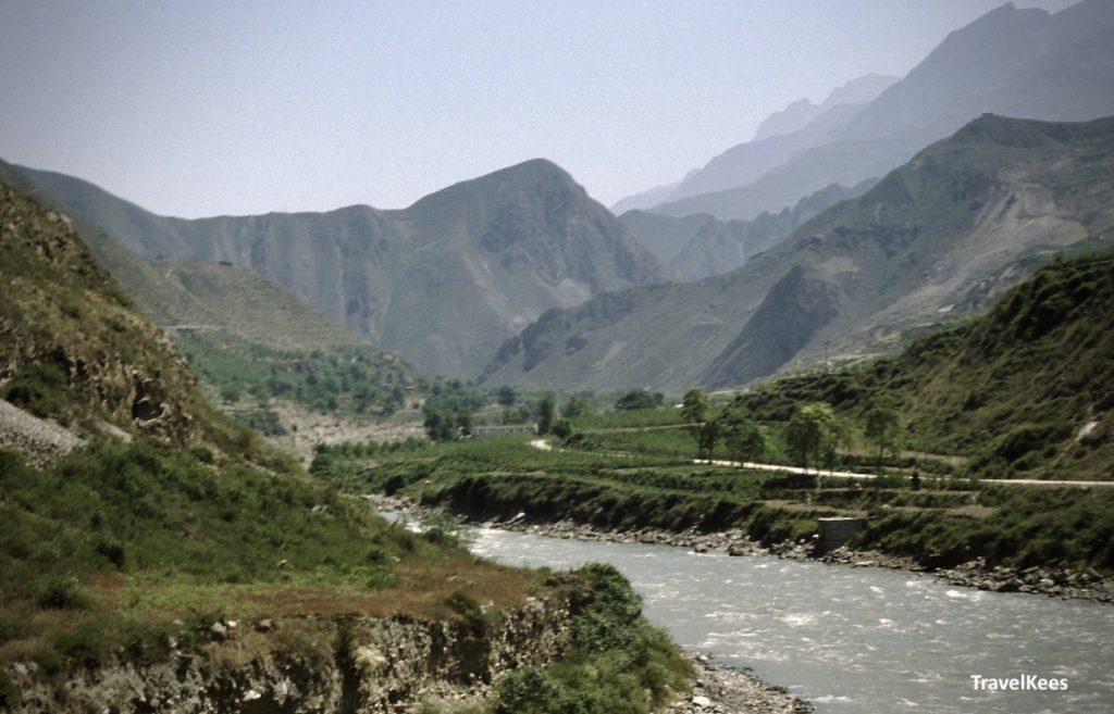 dal van de min rivier,sichuan