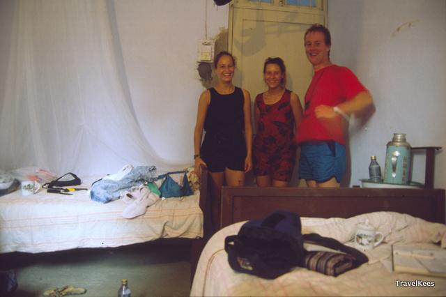 kamer in hotel na drijftocht li rivier