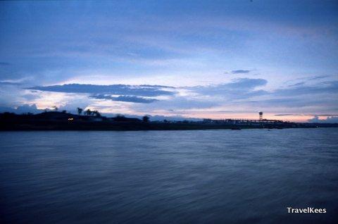 Xi rivier bij Guangzhou