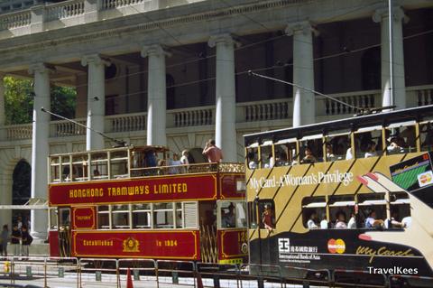 hongkong dubbeldeks trams
