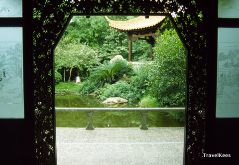 Guanghou, orchid garden