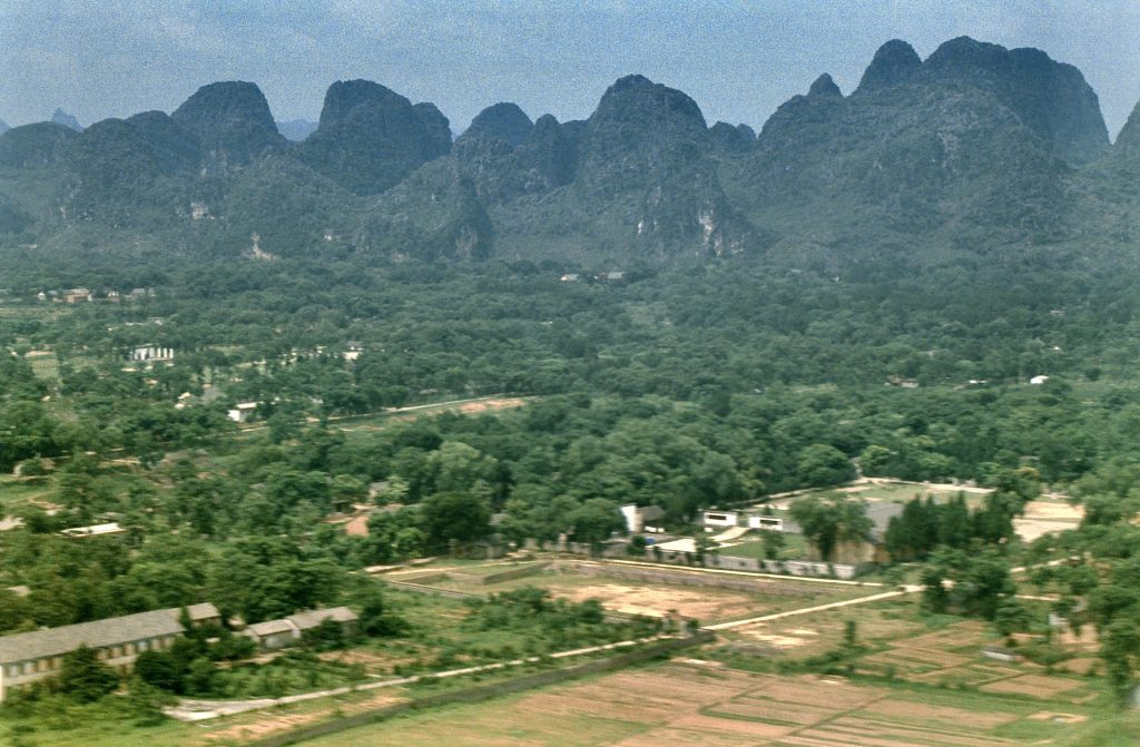 landschap bij guilin
