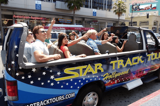 star tours, hollywood
