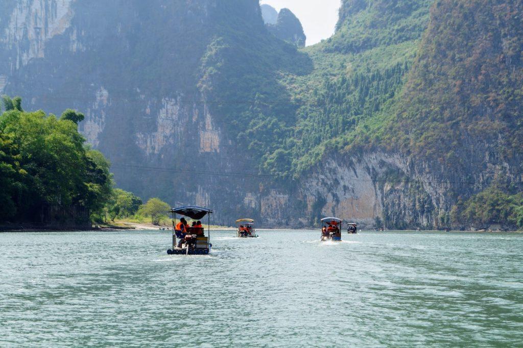 li rivier bij yangshuo