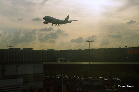 vertrek uit Hongkong