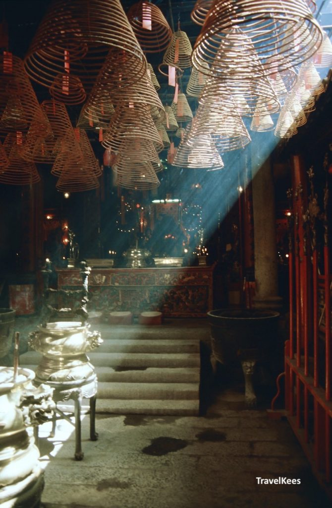 man mo temple, interior