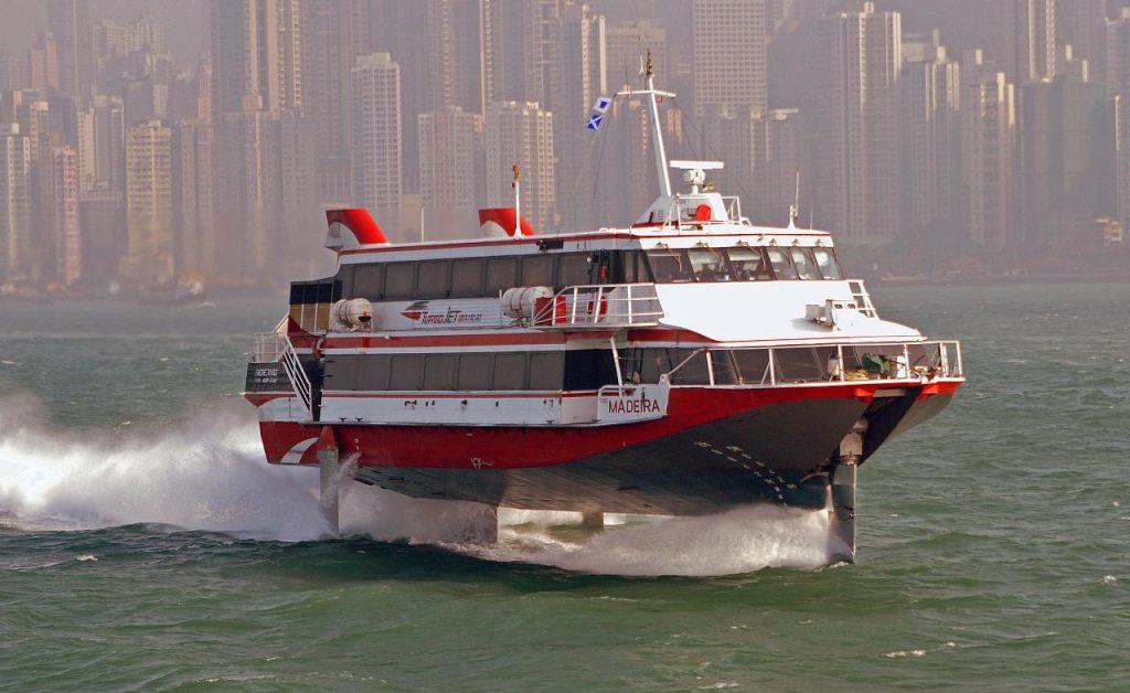 ferry van macao naar hongkong