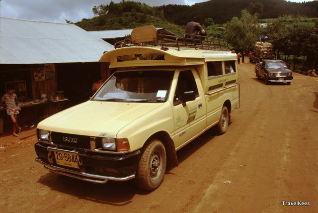 vervoer naar jungletrek