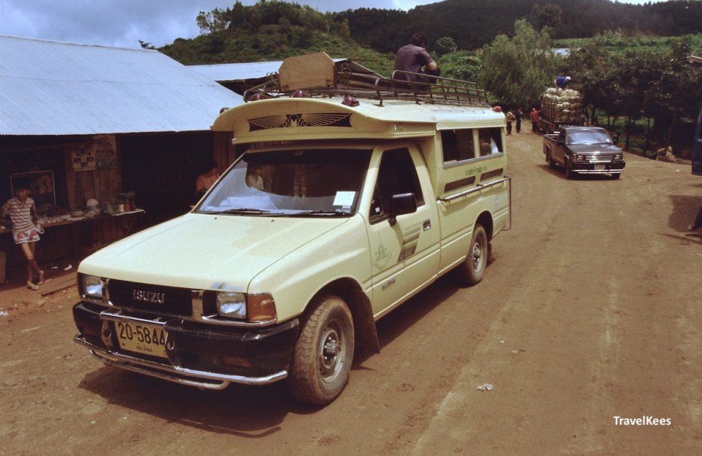 vervoer naar Chiang Mai trekking