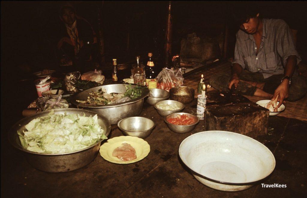 eten bereiden in Thailand