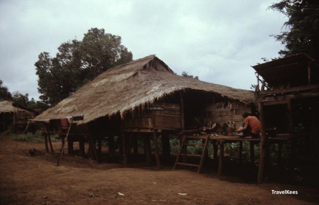 woningen op palen bij Chiang Mai
