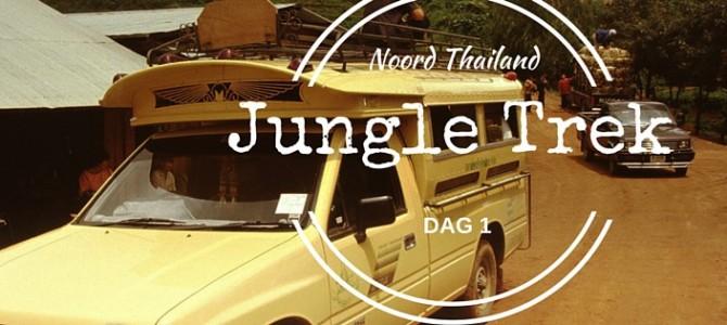 De jungletrek gaat van start