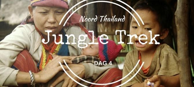 Het leuke van een jungletrek in Thailand