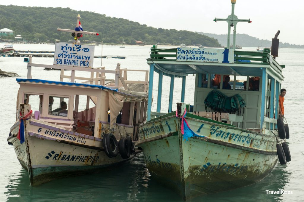 ferry's tussen Ban Phe en Ko Samet