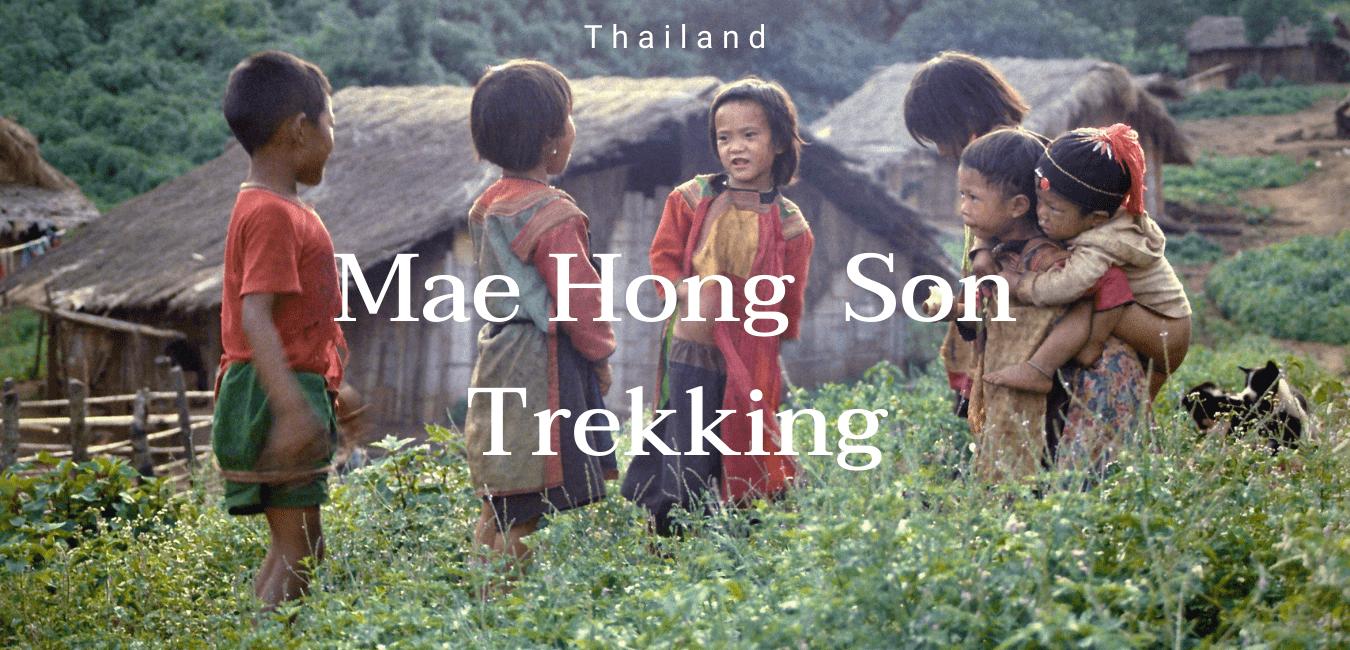 mae hong son trekking