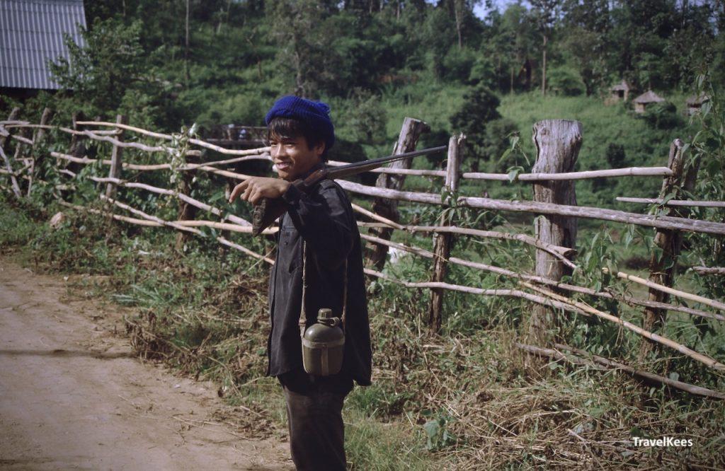 dorpsbewoner uit kuomintang dorp, pai